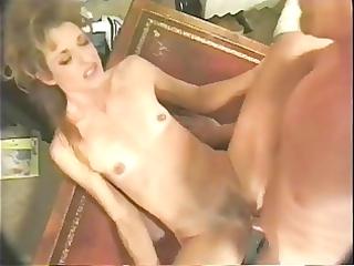 hot blond older secretary banging on desk