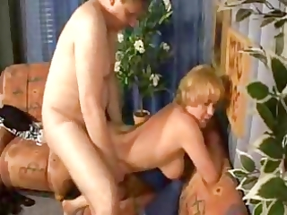 aged mamma seducing and fucking her chubby stepson