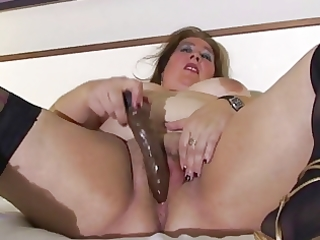 big beautiful woman aged in daybed