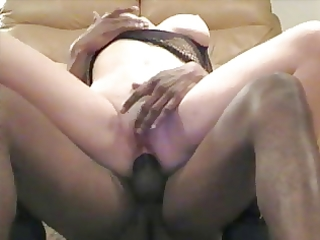cuckold wife close up anal with darksome pole