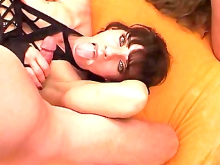 group-sex for 3 xtreme lewd milfs