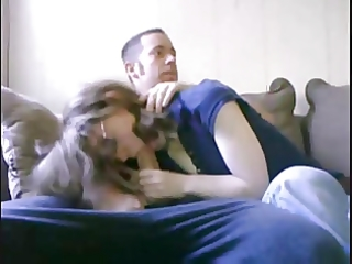 aunts friend give me a oral-stimulation with mom