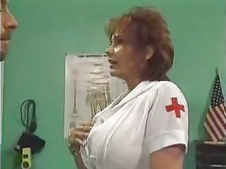 mature nurse screwed in hospital