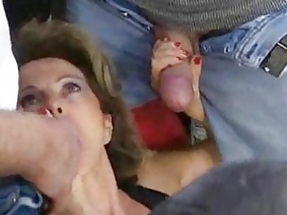 german mature housewife receives loads of cum on
