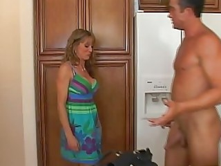 appealing golden-haired d like to fuck with large