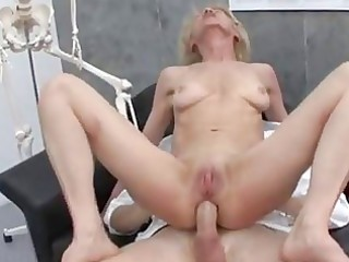 aged granny golden-haired marie fucking with