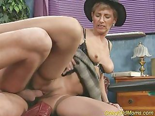 eager old mamma acquires drilled hard and does